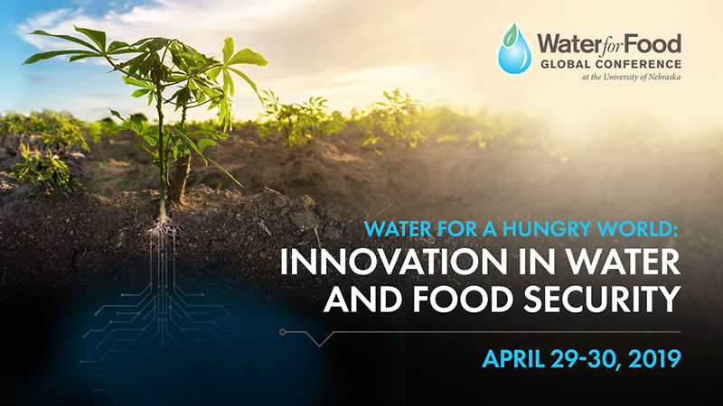 2018 Water for Food Global Conference
